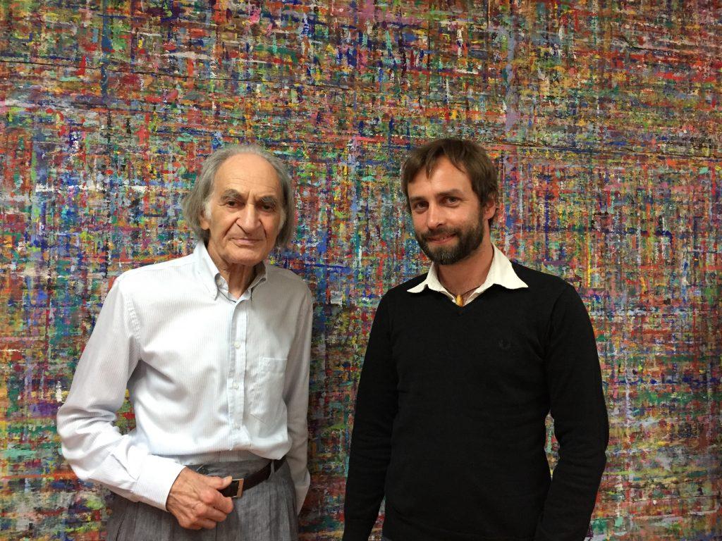Arno Stern und Jan Merlin Marski im Sommer 2017